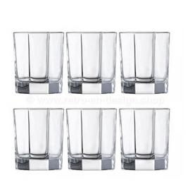 Vintage klares Whiskyglas von Arcoroc France, Luminarc Octime-Clear