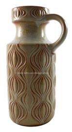 Vintage West-Germany vase nr. 485-26, pattern Amsterdam, Scheurich