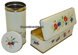 Dutch rusk tin and Gingerbread tin by ARK