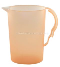 Tupperware Impressions water jug in salmon-orange