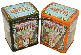 Pair of tins 'De Gruyter' coffee