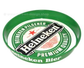 Großes grünes Heineken-Tablett oder Serviertablett aus den 90er Jahren