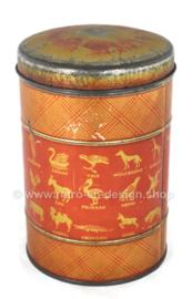 Boîte à café et thé vintage Niemeijer, reconnue comme la meilleure