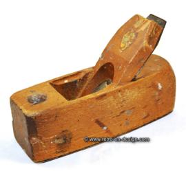 Brocante houten blokschaaf