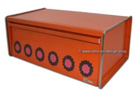 """Vintage Brabantia '70s bread bin, """"Patrice"""" design"""