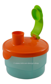 Tupperware divided milk powder dispenser