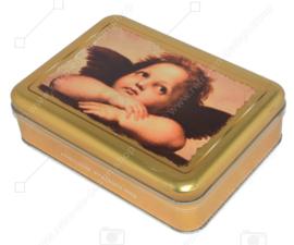 Boîte à chocolat pour pralines à l'effigie d'un ange, d'un chérubin ou d'un putti par Rafaël