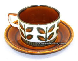 1841 - 1966 Boch Belgium soup bowl, cup and saucer Rambouillet