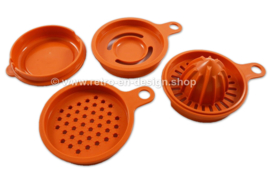 Set vintage Tupperware keukenhulpjes