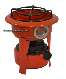 Enamel paraffin stove, single burner