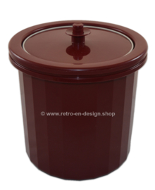 Tupperware, insulated double-walled ice bucket