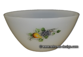 Round Arcopal bowl Fruits de France