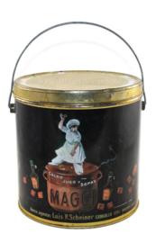 Groot bewaarblik voor Maggi bouillonblokjes
