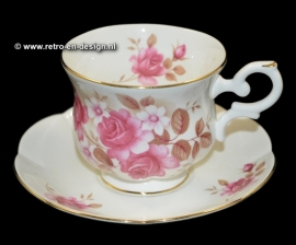 St. James Bone China, cup and saucer
