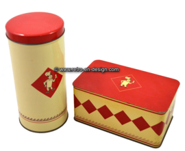Vintage Bolletje Dutch rusk and cookie tin
