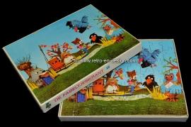 Puzzel 'De Fabeltjeskrant' 1968