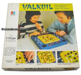 Vintage spel van MB, Valkuil 1972