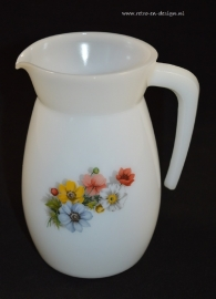 Arcopal Jug or Pitcher, Anemones
