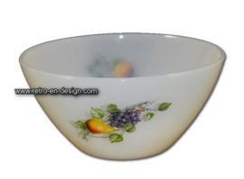 Arcopal bowl, Fruits de France Ø 14 cm