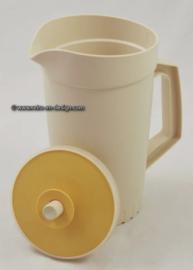 Vintage Tupperware schenkkan, waterkan. Créme/beige
