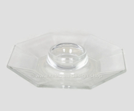 Heldere glazen eierdop van Arcoroc France, Octime Clear Ø 14 cm