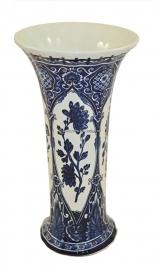 Boch Delft  bleu vase par Royale Sphinx