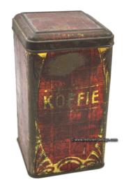 Brocant antique coffee tin