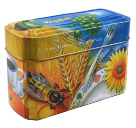 Vintage storage tin for Wasa crackers