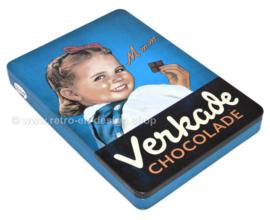 Boîte à chocolat nostalgique et historique de Verkade