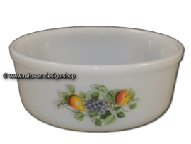 Arcopal Fruits de France Soufflé bowl