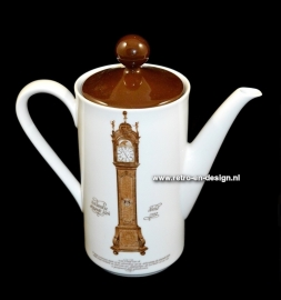 Mitterteich Coffee Pot. 'Clocks Dinnerware' by Nutroma
