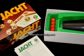 JACHT - Yahtzee dice game, Selecta 1990