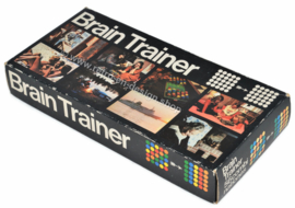 Brain Trainer, vintage concentration game from the 1970s