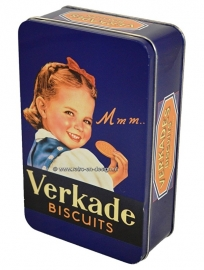 Vintage biscuit tin by Verkade