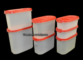 Vintage Tupperware Modular Mates storage containers, space savers