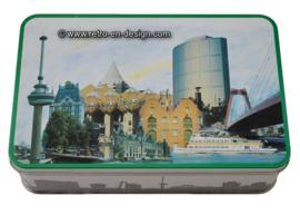 "Vintage tin, ""Verkade, 650-jaar Rotterdam"""