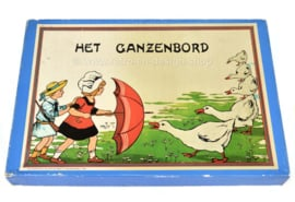 Ganzenbord. Das Spiel der Gans, Brettspielreproduktion von 1910 ab 1977