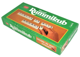 Vintage Word Rummikub, slide and make words