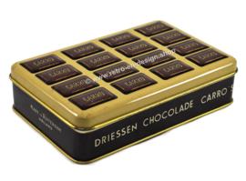 Vintage tin box for Driessen chocolade Carro's