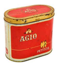 Vintage tin AGIO petitos