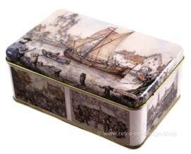 Tin box with drawings by Anton Pieck
