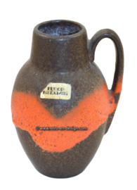 Fat Lava Vase Europ Ceramics, West-Germany