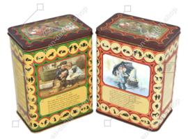 Ensemble vintage de deux boîtes pour soupe Royco avec des images d'Ot et Sien par C. Jetses