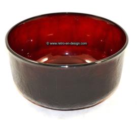 Grande bol Arcoroc Sierra, verre rubis rouge Ø 22 cm