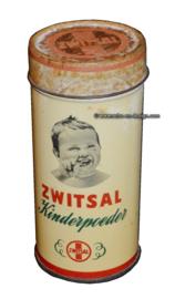 Vintage tin Zwitsal kinderpoeder