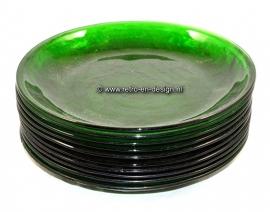 Arcoroc Sierra groen. Dinnerborden Ø 21,5 cm