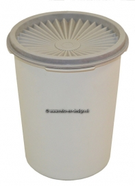 Vintage Tupperware canister with Servalier Lid
