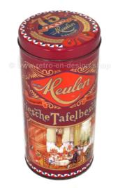 Lata de aniversario 75 años de van der Meulen Beschuit, lata de galletas