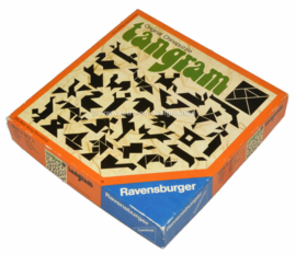 Vintage Tangram, Original Chinapuzzle by Ravensburger from 1976