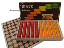 HINCK, vintage bordspel uit 1973, door Interbero